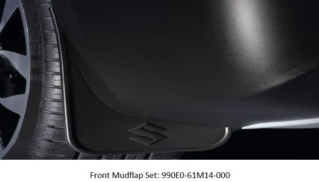 Suzuki S-Cross Mud Flap Set