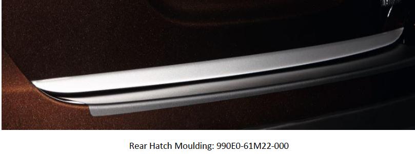 Suzuki S-Cross Rear Hatch Moulding