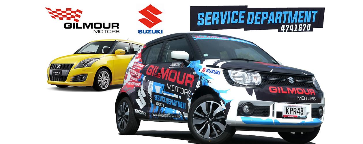 Gilmour Motors   New & Used Suzuki Dealership Otago